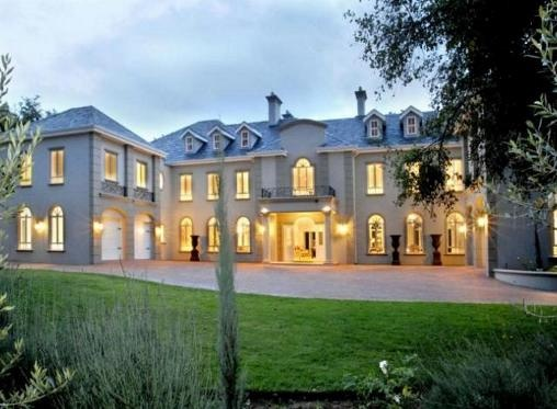 The most beautiful home exuding classic architecture with strong French overtones. #Bryanston #Sandton