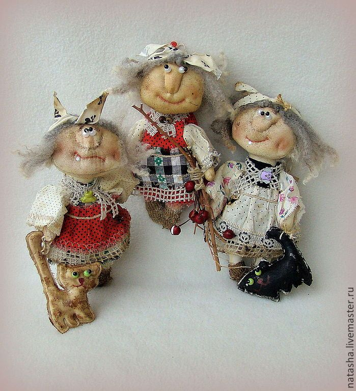 Купить Бабки - ёжки СТАРУШКИ - ВЕСЕЛУШКИ :)) - бабка ёжка, баба яга, домовые, домовой