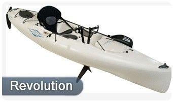 "Hobie Kayak Mirage Revolution 13  Single 13' 5"""