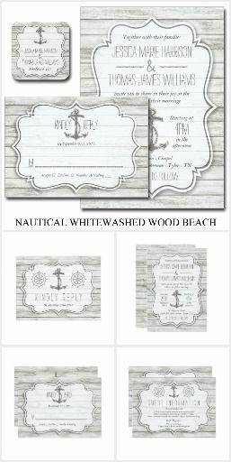 Maritime | Nautical Monogram Wedding Invitation Yacht club chic wedding invitations feature nautical detailing in a classic preppy color palette of navy and white. Your initials, monogram or duogram are displayed astride a pair of paddles or oars, with your wedding invitation details beneath in timeless block lettering. Delicate rope and knot detailing completes the look. Cards reverse to wide horizontal stripes in matching navy blue and white. Designed to coordinate with our Maritime…