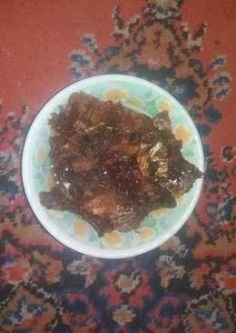 Sambel goreng ikan asin
