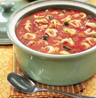 Meatless Monday: Tortellini Vegetable Soup   Bakersfield Mom