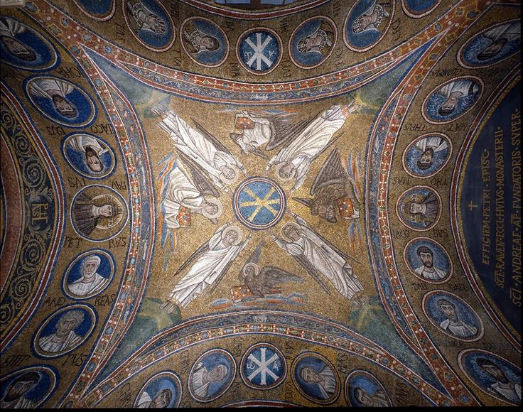 Catholic beauty // Museo Arcivescovile di Ravenna // #Christianity #saints #apostles #angels #mosaic #Italy #sacredart