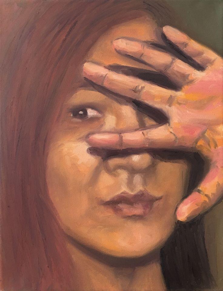 P #11-2. 11x14. Oil on Canvas. 2017