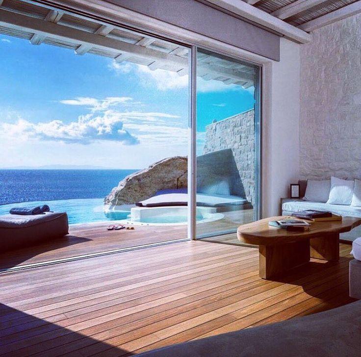 Golden Villa 2Bedroom  on the top of the cliff #cavotagoomykonos by cavotagoomykonos
