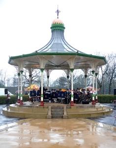 Mesnes Park Bandstand, Wigan