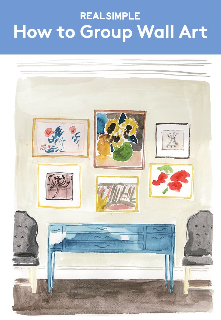 Rules for an Art Wall | Known for designing elegant, classical spaces, Bunny Williams (bunnywilliams.com) has a special genius for grouping artwork. The advice here is for a salon-style hanging in an entryway, but Williams's formula can transform any blank wall.