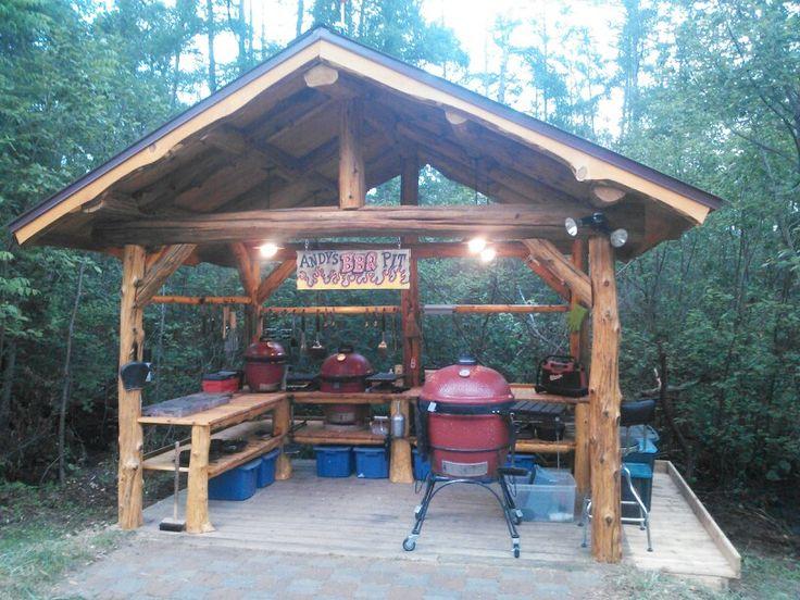 Bbq Shack Outdoor Kitchen Design Bbq Shed Backyard