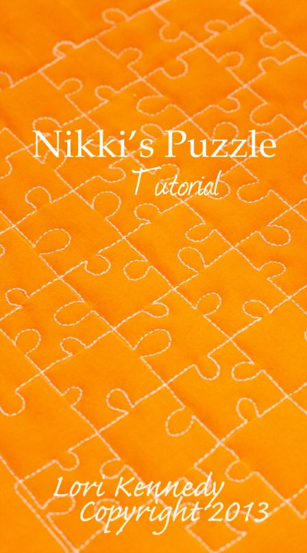 Tutorial-Free Motion Quilted Jigsaw Puzzle Lori Kennedy The Inbox Jaunt