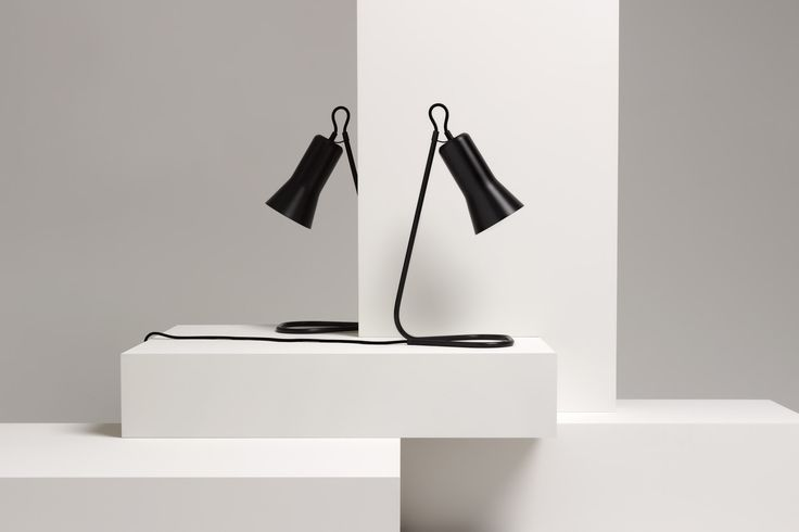 Ross Gardam | Silhouette Lamps in black anodised