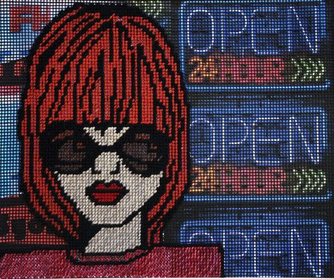 Open 24 Hours - SOLD by McDonald | PLATFORMstore. Tapestry and Mixed Media