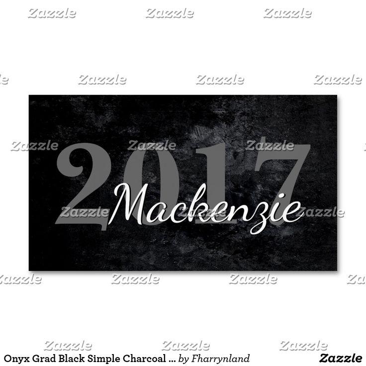 business letter format with enclosure%0A Onyx Grad Black Simple Charcoal Matte Faux Velvet Business Card Magnet