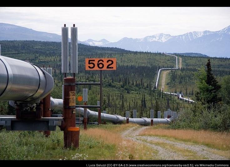 Alaskan Pipeline Goes On Line