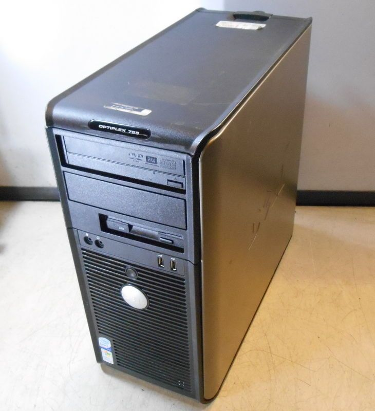 Dell Optiplex 755 Intel Core 2 Duo E6550 @ 2.33GHz 4GB RAM Computer NO HDD