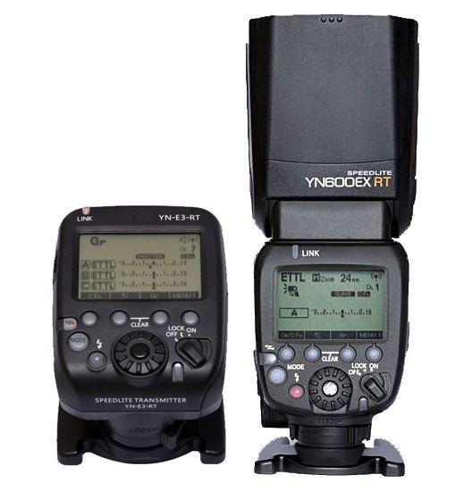 YN600ex + E3-Rt