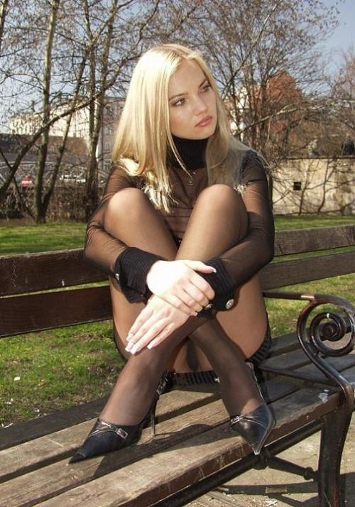 Darkness Pantyhose And Getting 3