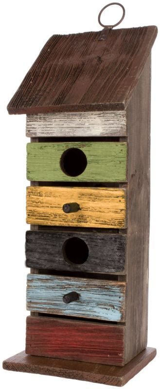 Carson Home Accents Vintage Tall Birdhouse, 14.25-Inch , New, Free Shipping