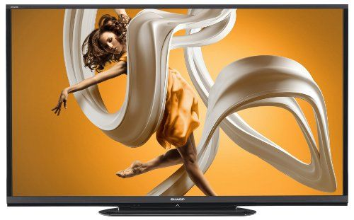 Sharp LC-80LE650 80-inch Aquos 1080p 120Hz Smart LED HDTV AQUOS 1080p LED Display: Using photo-alignment technology that's precision crafted to let more light through in bright scenes and shut more light out in dark scenes, the AQUOS 1080p LED Display with a 4 million: 1 contrast ratio creates a picture so real you can see the difference.. 120Hz Refresh Rate: See sharper, more electrifying action ... #Sharp #Home_Theater
