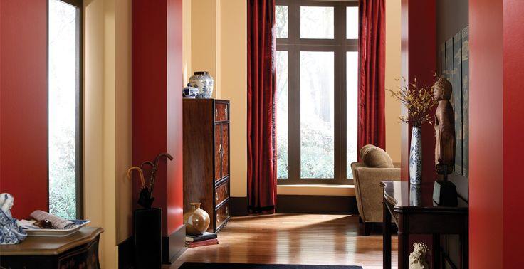 Behr Paint Kenya PPU4 16 Morocco Red PPU2 17 Dark Truffle