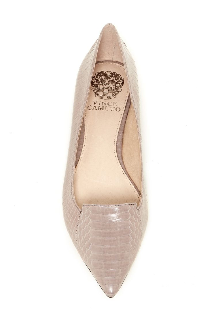 Empa Genuine Snakeskin Flat  by Vince Camuto on @nordstrom_rack