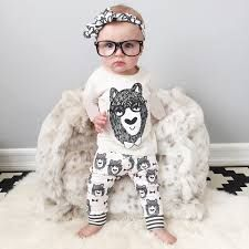Retail 2015 summer style infant clothes baby clothing sets boy Cotton little monsters short sleeve 2pcs babyunisex clothes
