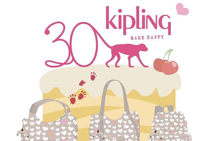 〈キプリング〉ブランド設立30周年 を祝した日本限定プリントバッグが発売!    ベルギー発のプレミアム・カジュアルバッグブランド〈キプリング(Kipling)〉の、誕生30年を記念した日本限定プリントバッグが登場。2017年3月1日(水)より発売する。    日本限定アイテム「パステルロマンス」は、〈キプリング〉が女性たちへ贈る合言葉「MAKE HAPPY!」をキュートなハート柄で表現。淡いベージュブラウンをベースに、キプリングのマスコットであるモンキーをチャー...