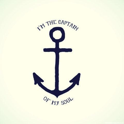 Eu sou o capitão da minha alma