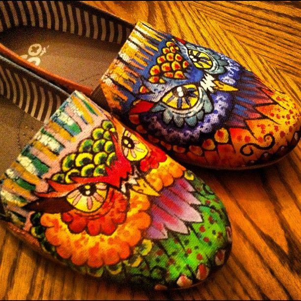owl shoes!