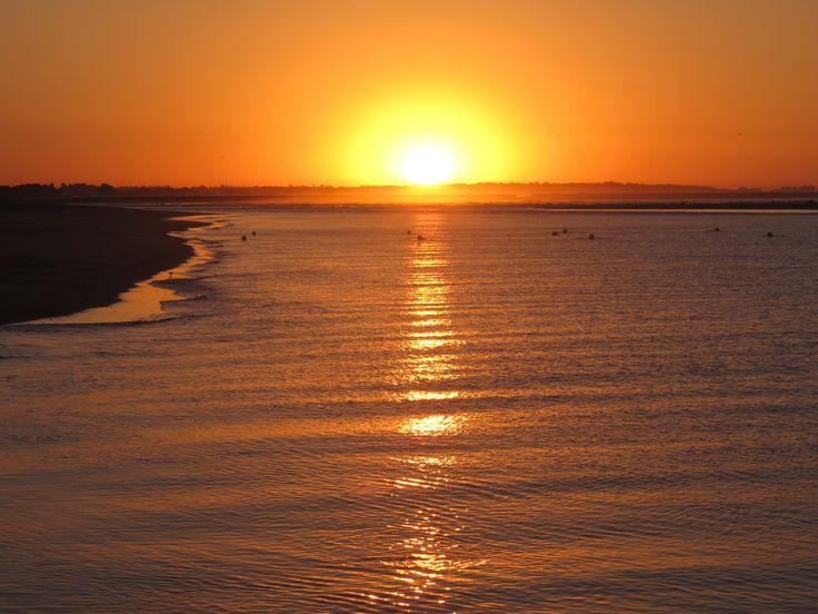 Sunrise. Isla Canela, Huelva, Spain