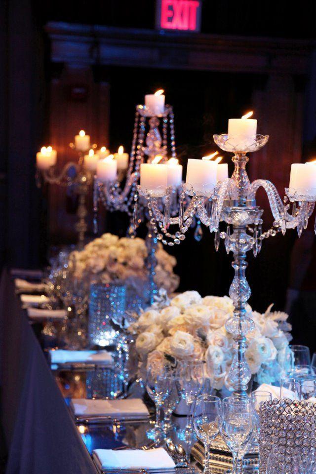 A Winter Wonderland Wedding by Aramat Events | Calligraphy by Jennifer