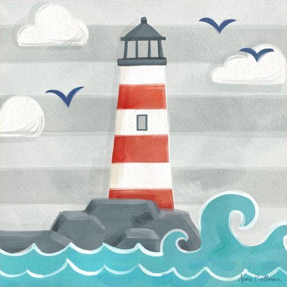 Let's Set Sail - Lighthouse: