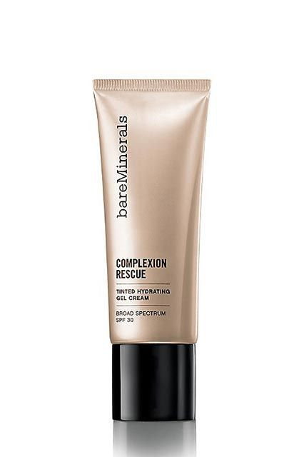 What's Selling Out At Sephora, Net-A-Porter, & More #refinery29  http://www.refinery29.com/best-selling-beauty-products#slide-23  BareMinerals knocked it out of the park with this foray into non-powder cosmetics: a gel cream with SPF 30 that absorbs instantly into the skin, providing a dewy glow with sheer coverage. It's no wonder it has such a stellar track record on Ulta — and is a fave of our beauty director.