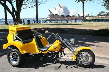 Day1: Welcome to Sydney! Your magical holiday Down Under begins today as you arrive into this very city.  Upon arrival you are met and are transferred to your hotel. Check in and relax. Later in the afternoon enjoy a brief city tour riding a Harley Davidson bike! (Pillion rider). Overnight in Sydney
