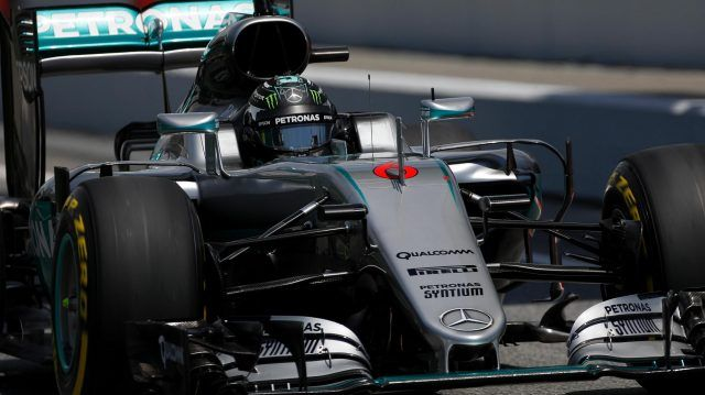 Nico Rosberg (GER) Mercedes-Benz F1 W07 Hybrid at Formula One World Championship, Rd5, Spanish Grand Prix, Qualifying, Barcelona, Spain, Saturday 14 May 2016. © Sutton Images