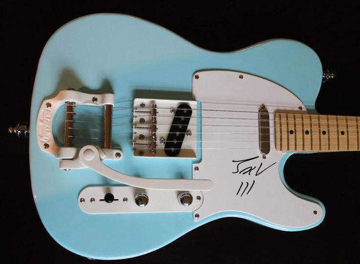 jack white telecaster signed by jack guitars amps and pedals pinterest jack white and. Black Bedroom Furniture Sets. Home Design Ideas