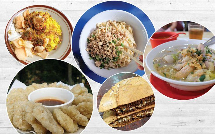 5 Street Food Terbaik di Bandung