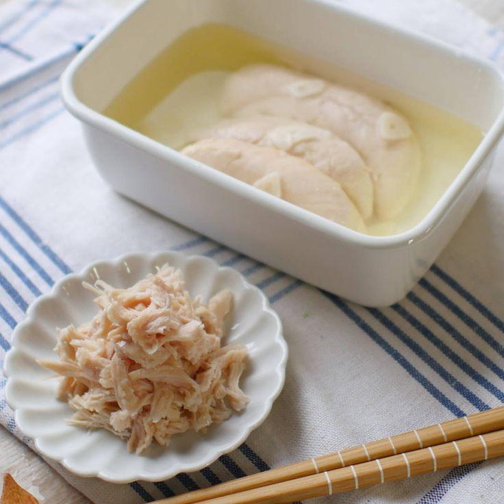 万能常備菜にスター誕生!ささみのオイル漬け - macaroni