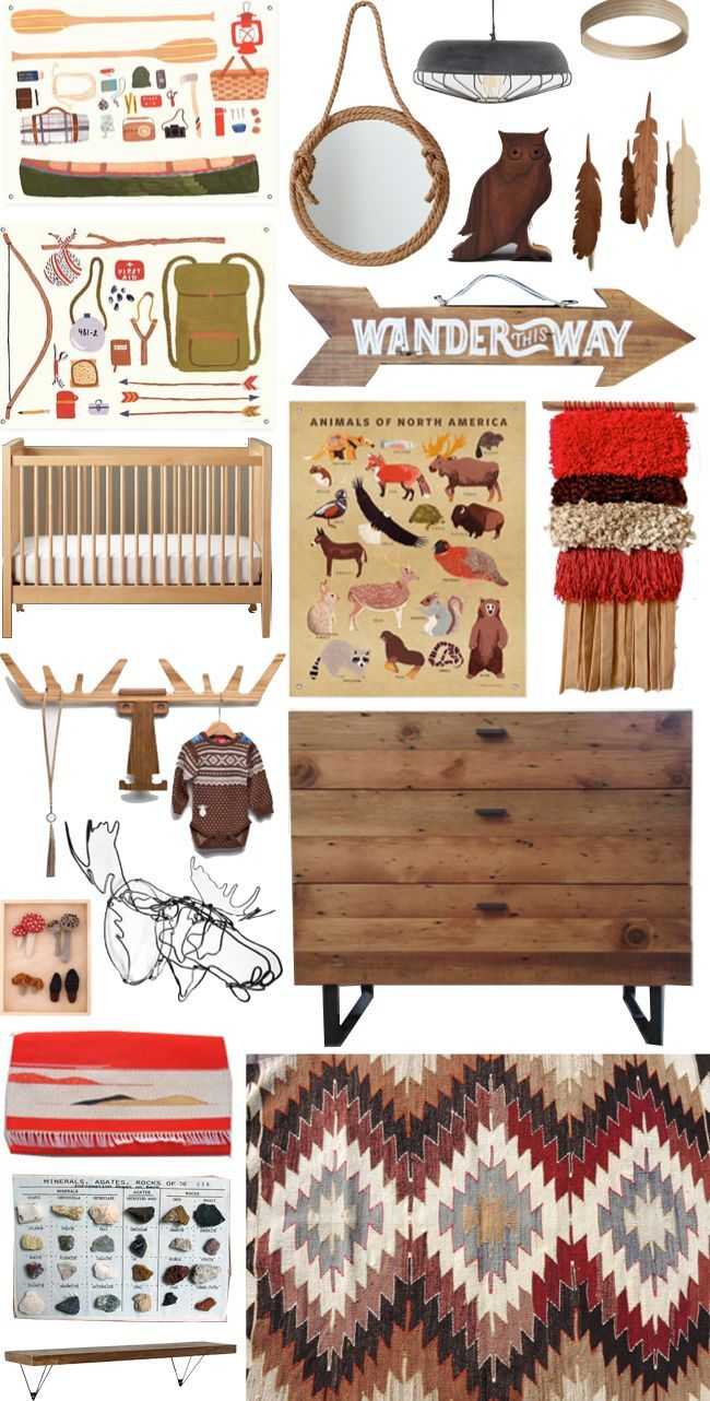 Camp Out in the Nursery - @Melinda Heck - reminded me of our Benton and his outdoorsman-themed room!