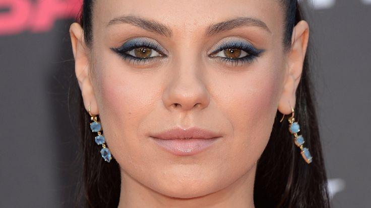 Mila Kunis yeux ronds