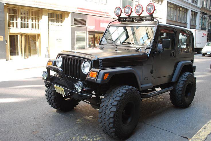 matte black wrap jeep pinterest black jeep jeep wranglers and jeeps. Black Bedroom Furniture Sets. Home Design Ideas