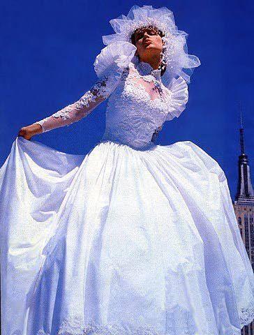 187 besten 1980s Brides Bilder auf Pinterest | Brautkleider, Bräute ...