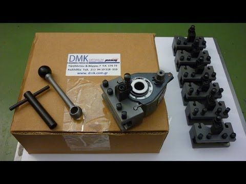 Optimum D180x300 Quick Change Tool Post SWH-AA