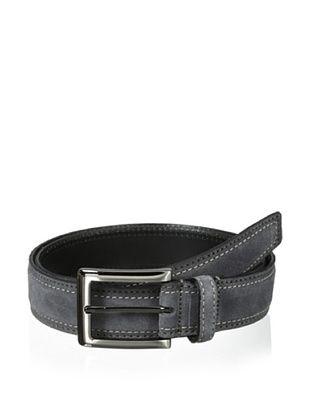 J.Campbell Los Angeles Men's Suede Stitched Belt