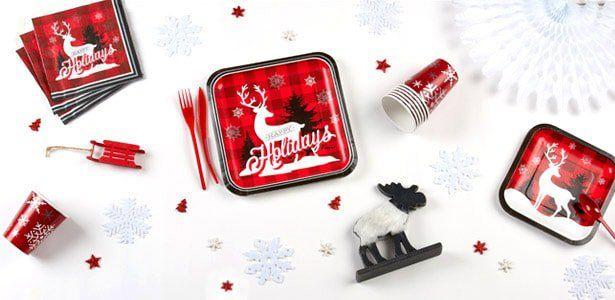 "Addobbi e decorazioni per feste a tema ""Renne di Natale"" su VegaooParty"