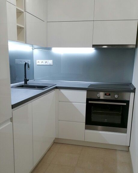 Kuchyňská linka - Panorama Kyje #dbdesign