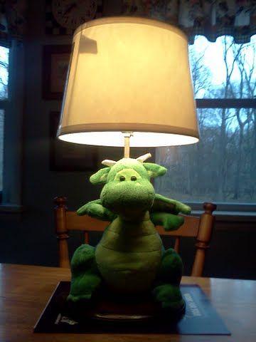 Dragon lamp dragon theme nursery room ideas pinterest for Dragon bedroom ideas