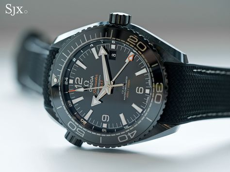 SJX: A Detailed Look at the Omega Seamaster Planet Ocean Deep Black GMT