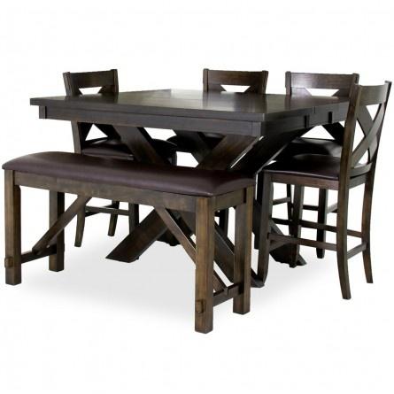crown mark havana pub set dining room set table