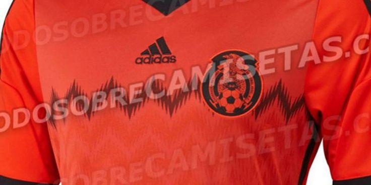 Filtran nueva playera de México para el Mundial