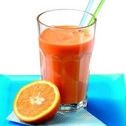 Zumo de remolacha, naranja y jengibre
